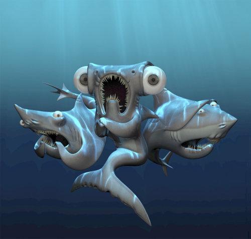 3d fish design