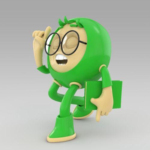 Mark Gmehling Diseño de personajes