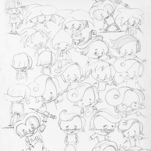 Mark Gmehling Character Design