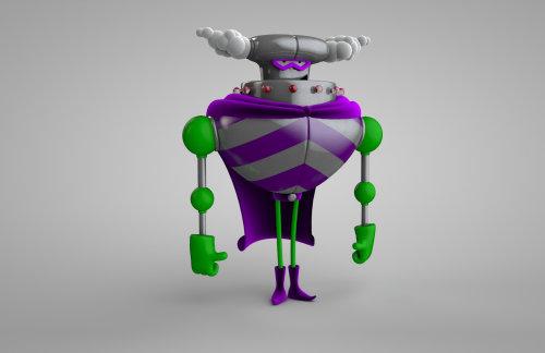 3d mechanical robit