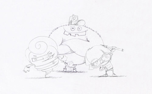 character design line art