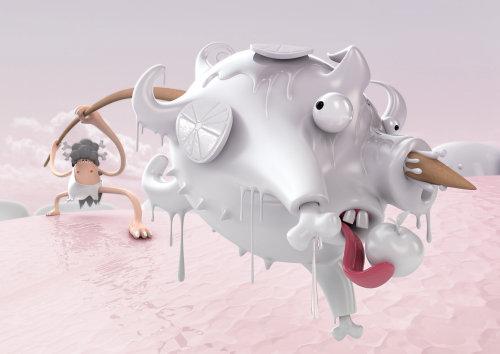 3D character illustration