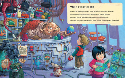 children aliens guide shop