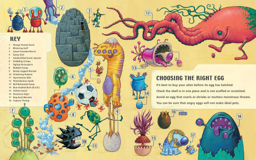 Eggs spread Aliens poster