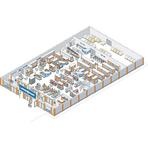 Architecture design of large mart