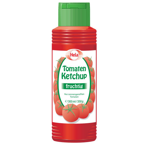 Food packaging illustration of tomaten Ketchup