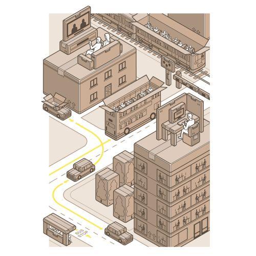 Mark Watkinson International graphic & infographic illustrator. UK