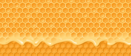 Honeycomb graphic design