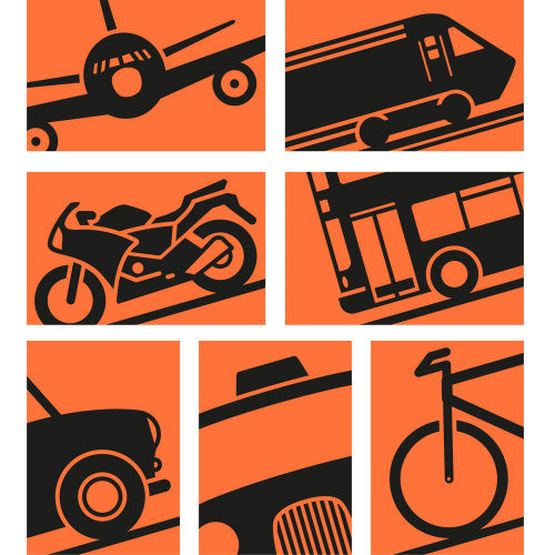 All vehicle vector illustration