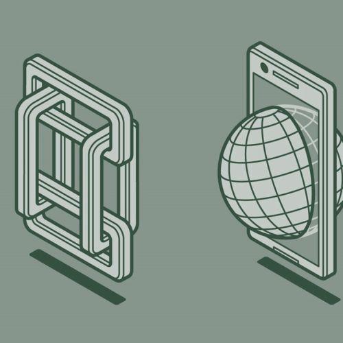 Phone screen graphic design