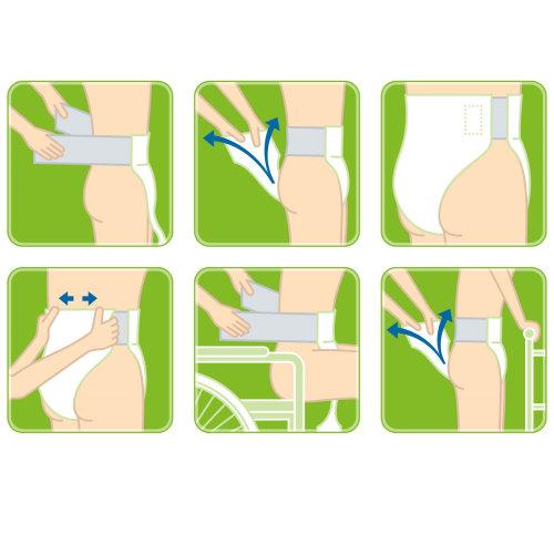 Vector illustration of diaper
