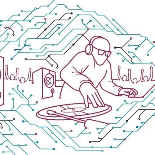 DJ circuit board