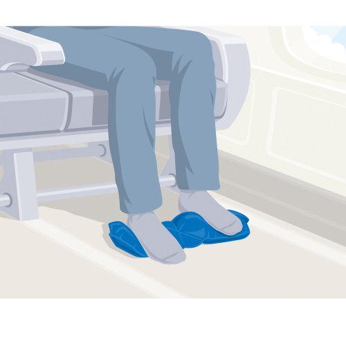 An illustration of legs circulation equipment