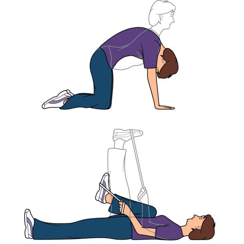 Exercises illustration by Mark Watkinson