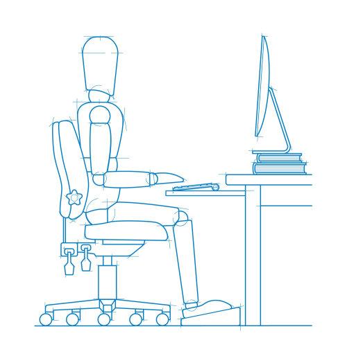 Blueprint Man communication graphic