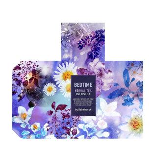 Bedtime herbal tea infusion