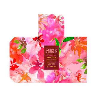 Echinacea and hibiscus tea