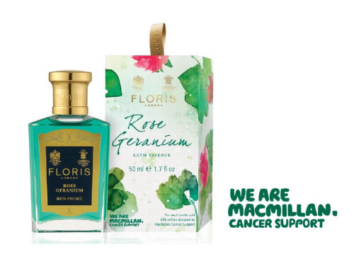 Watercolor of floris UK perfume