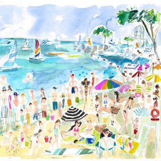 Martha Napier - International lifestyle & fashion illustrator. USA