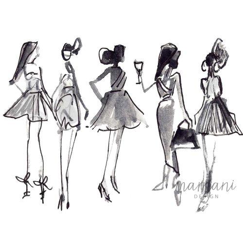 Black and White, Fashion,