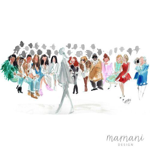 Martha Napier International lifestyle & fashion illustrator. USA