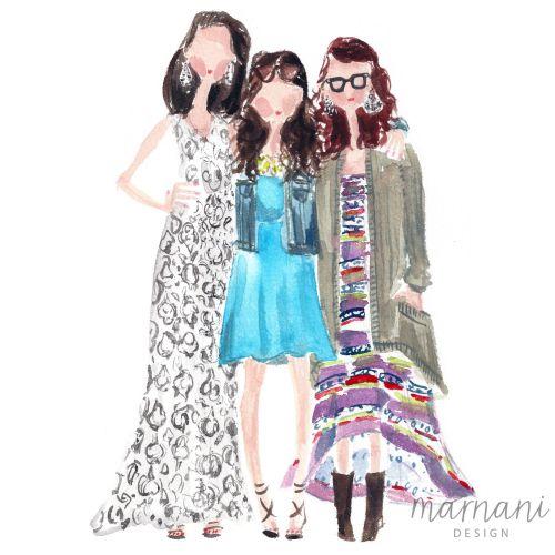 Friends, Girlfriends, Fashion, Portrait, Style, Preppy, Boho,