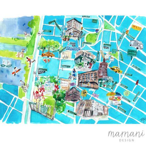 Martha Napier Places & Locations