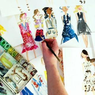 Martha Napier Live Event Drawing -  based illustrator