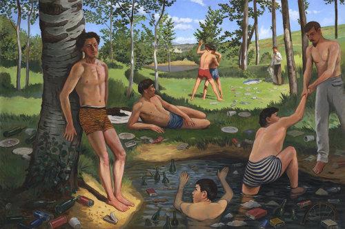 Les personnes bénéficiant de la piscine
