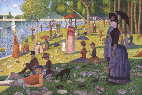Personnes appréciant dans le parc