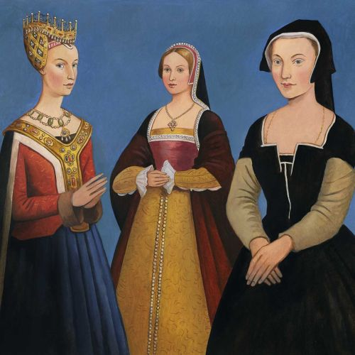 Historical Women standing together
