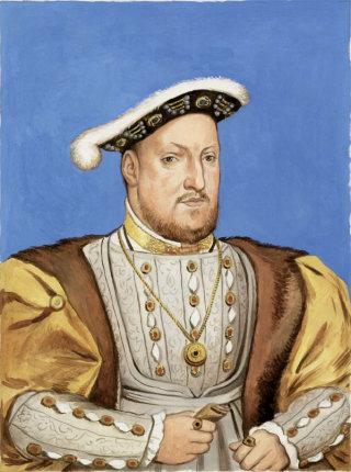 Portrait of king Henry