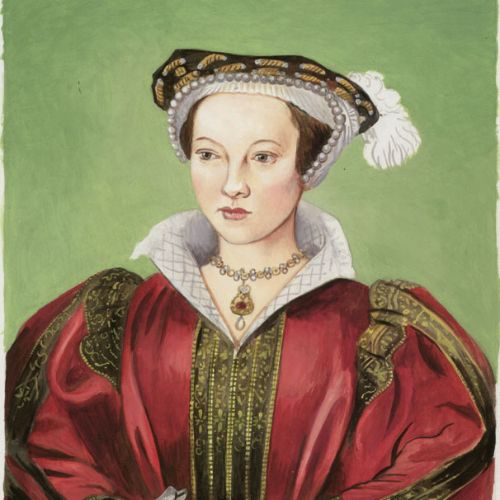 Portrait art of Katherine Parr