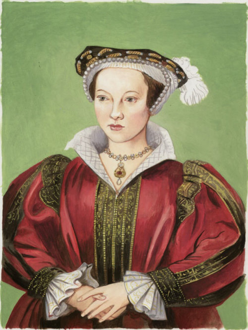 Arte do retrato de Katherine Parr