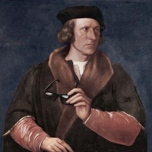 Portrait of historical king