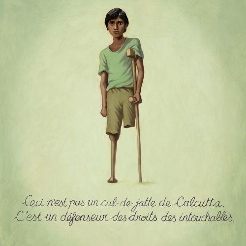 Children handicap boy