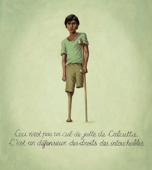 Enfants handicap garçon