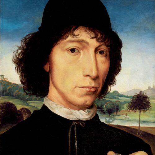 Histroical portrait of man