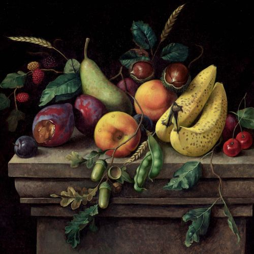 Fruits oil painting