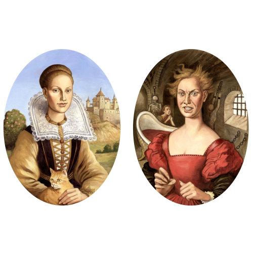 Portrait de deux femme