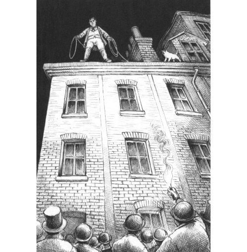 Homme noir et blanc debout sur le bâtiment
