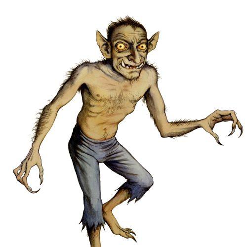Character design of Bog Gart