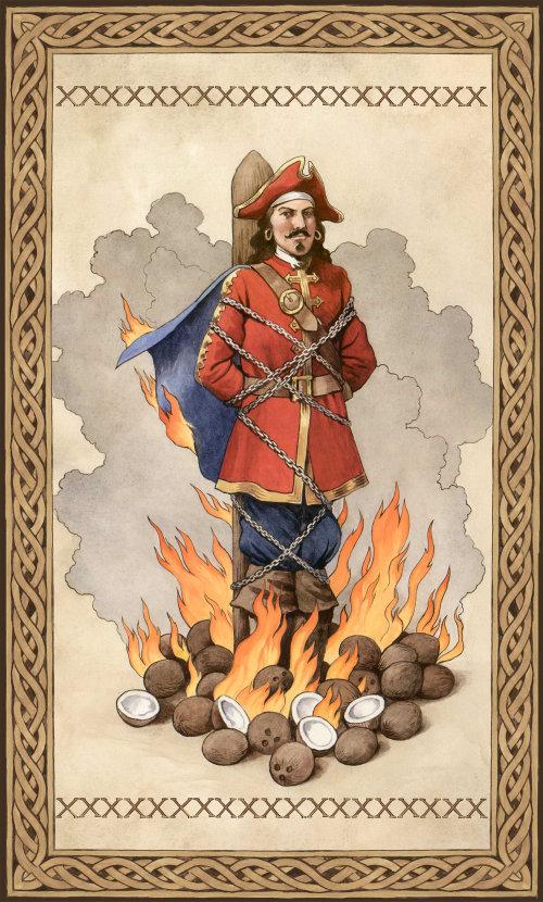 Un homme historique piégé dans un incendie
