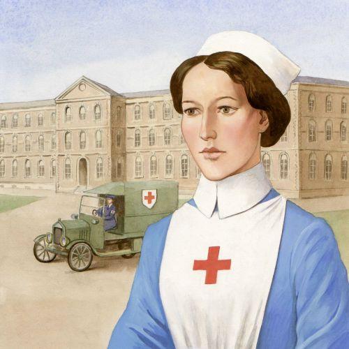 medical Nusrse portrait