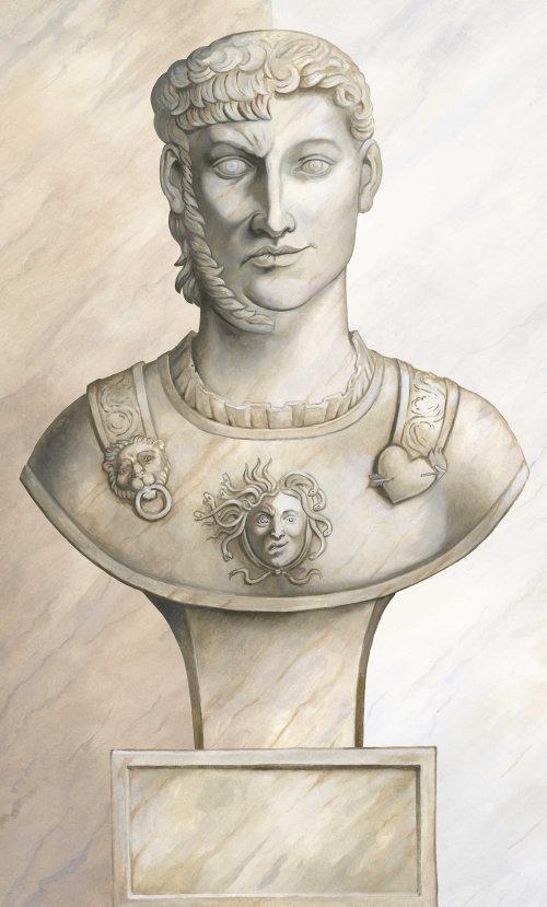 Statue grecque historique
