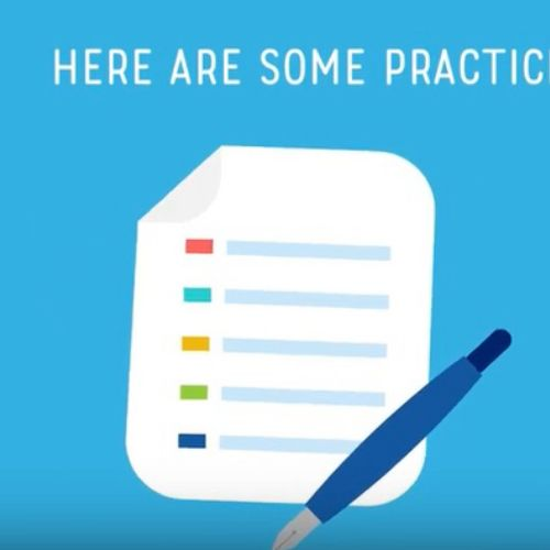 Effects of positive environment at work animation