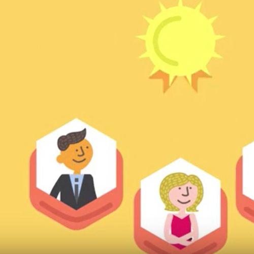 Animated clip for venue standard