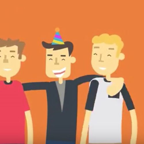 Animated Video for itsonme app