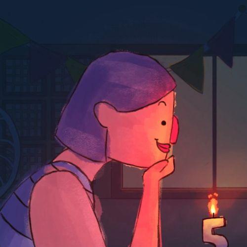 Birthday Wishes animation