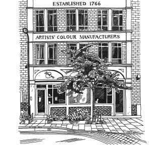 Matt Hollings In Black & White - International lifestyle illustrator. Manchester. UK